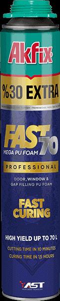 Fast 70 Быстротвердеющая Профессиональная Полиуретановая Пена